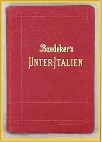 Baedeker's Unter-Italien 1902